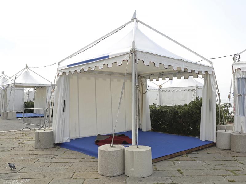 Noleggio strutture mobili per fiere armeli event